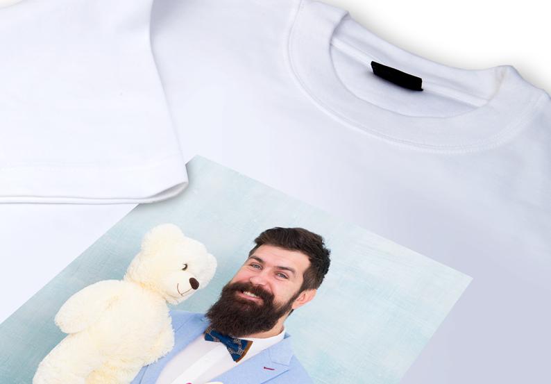 Fotogeschenk T-Shirt mit Foto drucken