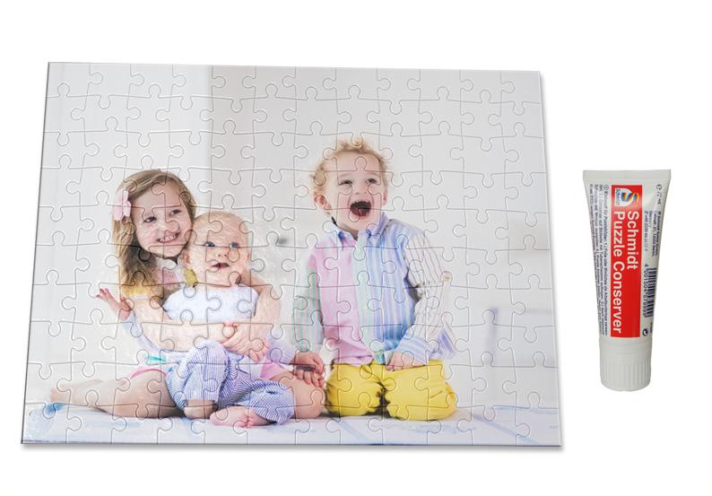 Foto-Puzzle 120 Teile inkl. Puzzle-Conserver