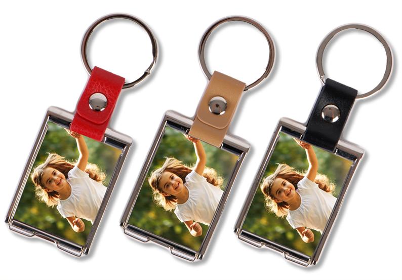 Schlüsselanhänger Lederanhänger mit Foto
